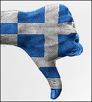 Ελλάδα: Η πιο επικίνδυνη χώρα για χρεοκοπία