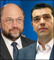 Σουλτς: Ελπίζω να μπει τέλος στην εποχή ΣΥΡΙΖΑ σε περίπτωση νίκης του «ναι»