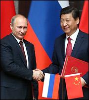 Το «καυτό» τρίγωνο Ρωσίας - Ε.Ε. - Κίνας