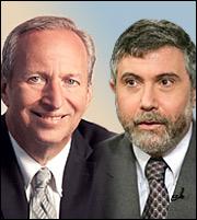Summers-Krugman: Κίνδυνος «μακροχρόνιας ύφεσης» στη Δύση