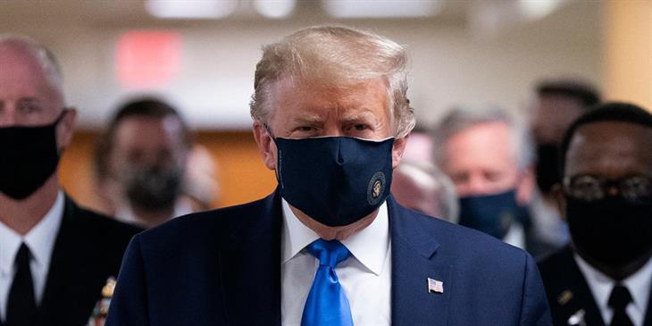 Σκέψεις Τραμπ για απαγόρευση εισόδου στις ΗΠΑ «ύποπτων» για κορωνοϊό!
