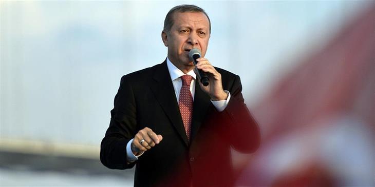 Ερντογάν: Οι ΗΠΑ να τηρήσουν τις υποσχέσεις τους