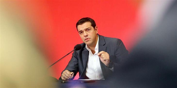 Τσίπρας: Απατεώνες της πολιτικής παριστάνουν τους υπερπατριώτες