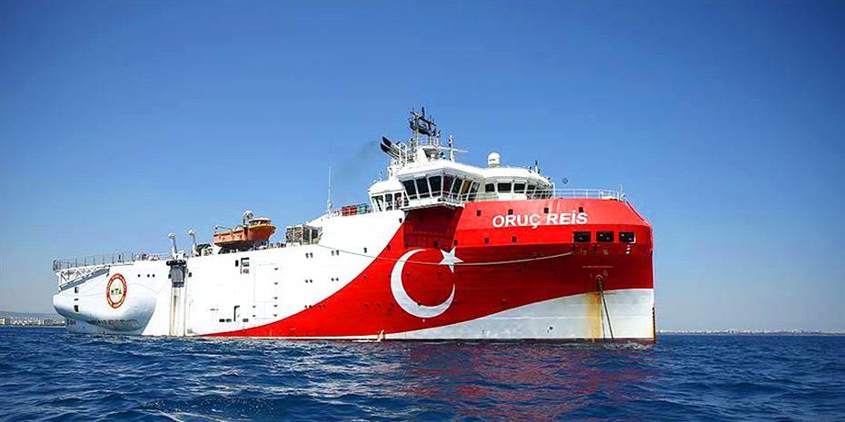 Η Τουρκία τορπιλίζει τον διάλογο, στέλνει το Oruc Reis νότια του Καστελόριζου