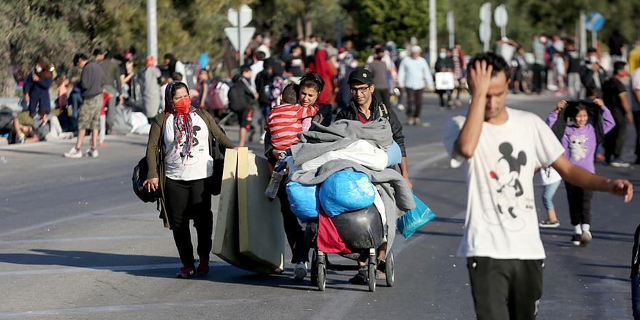 Λέσβος: 1.200 πρόσφυγες μπήκαν στο Καρά Τεπέ