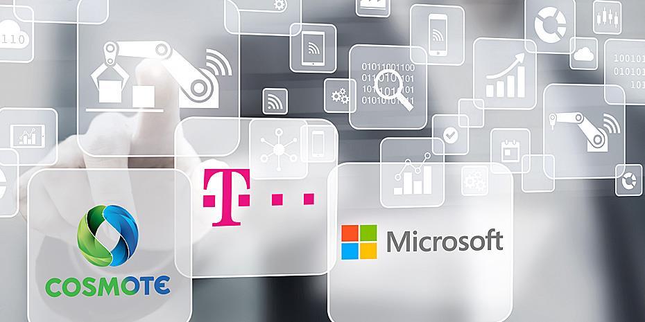 Νέες λύσεις cloud για επιχειρήσεις από Cosmote και Microsoft
