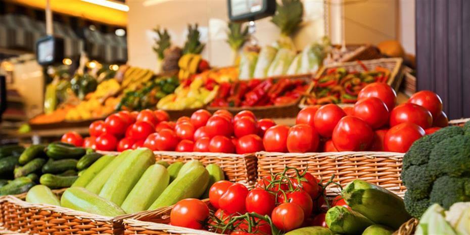 Μείωση 0,4% στις τιμές των αγροτικών προιόντων τον Απρίλιο