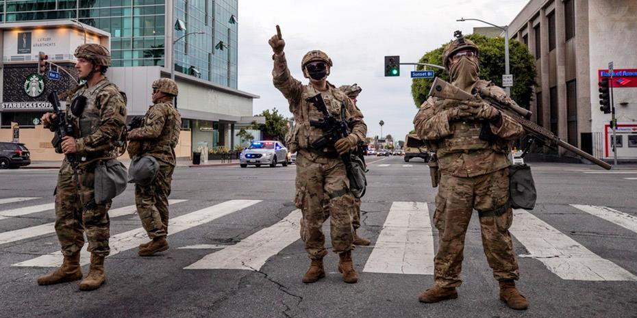 Ογδοη ημέρα διαδηλώσεων και λεηλασιών στις ΗΠΑ
