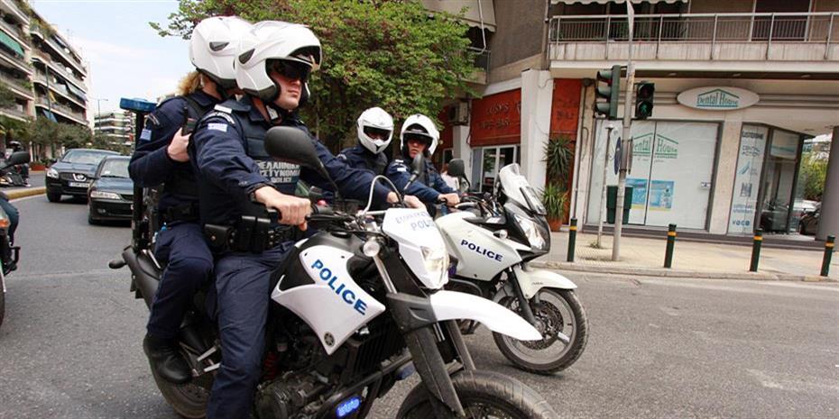 Μεγάλη αστυνομική επιχείρηση στην Ομόνοια