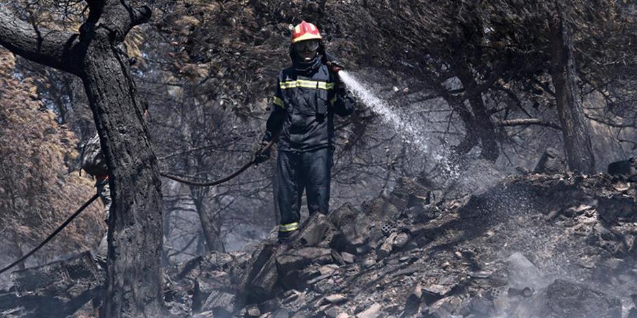 Πολύ υψηλός κίνδυνος πυρκαγιάς τη Δευτέρα σε τέσσερις περιοχές