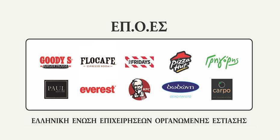 «Μπαίνουν μέσα» επτά στις 10 εταιρείες εστίασης