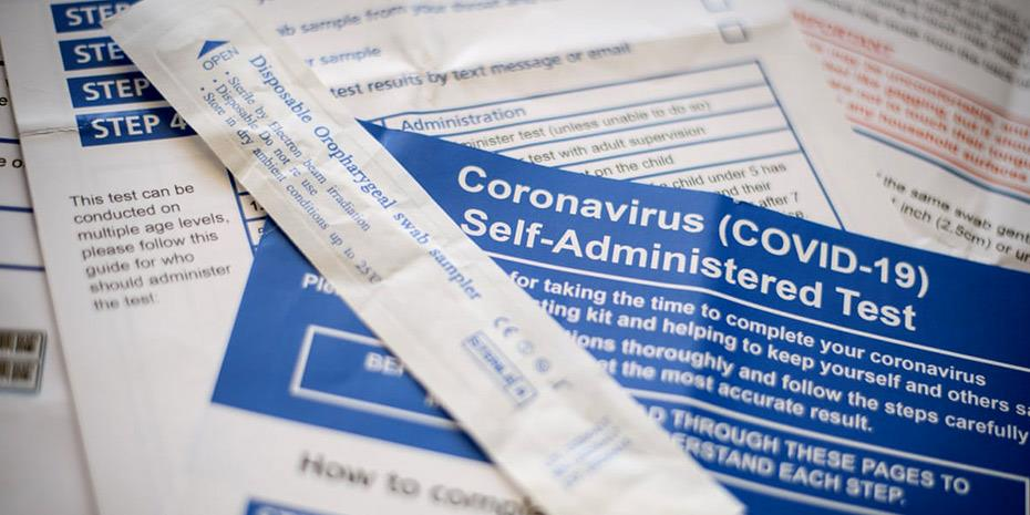 Self test ανιχνεύει τον κορωνοϊό σε 3 λεπτά