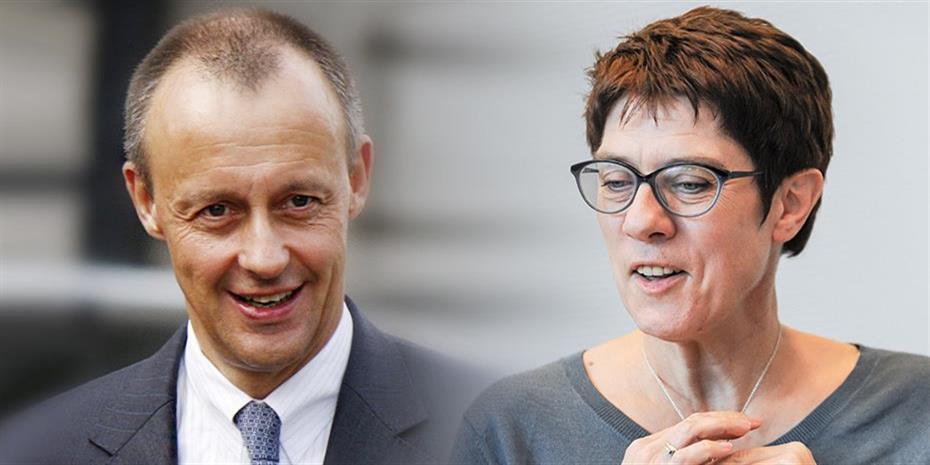 Μονομαχία Καρενμπάουερ και Μερτς για την ηγεσία του CDU