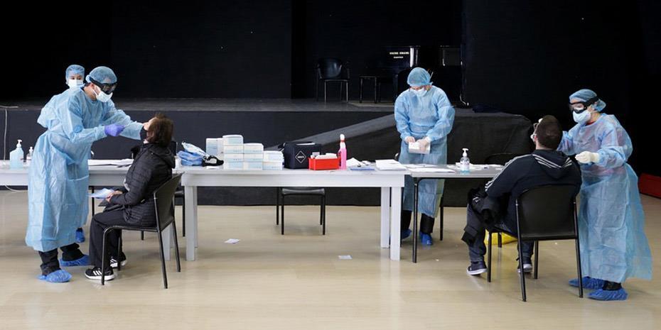 Κορωνοϊός: 2.422 κρούσματα, 37 θάνατοι και Rt στο 0,94