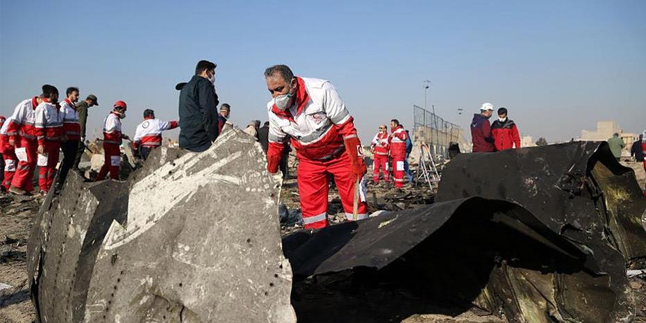 Συλλήψεις από τις ιρανικές αρχές για τη συντριβή του Boeing