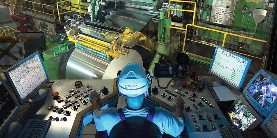 Μείωση 7,5% στην ελληνική βιομηχανική παραγωγή τον Μάιο