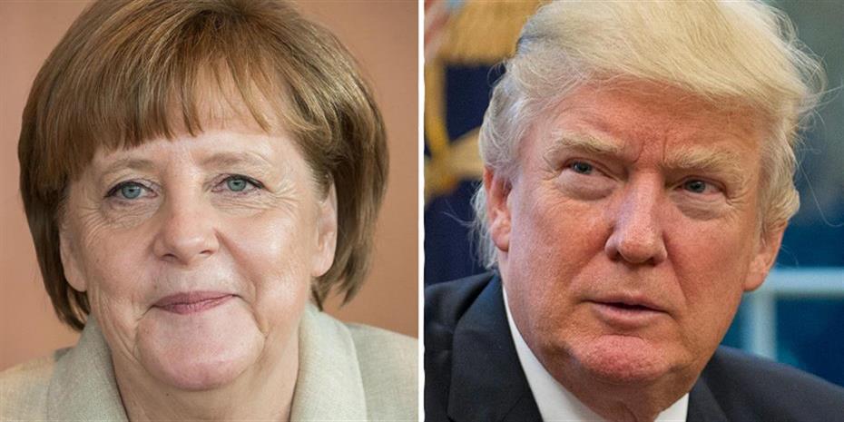 Γερμανός αξιωματούχος: Συνάντηση Μέρκελ-Τραμπ στις 27 Απριλίου