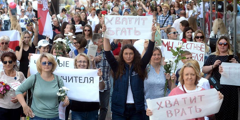 Ευρωπαϊκές πιέσεις για νέες εκλογές στη Λευκορωσία