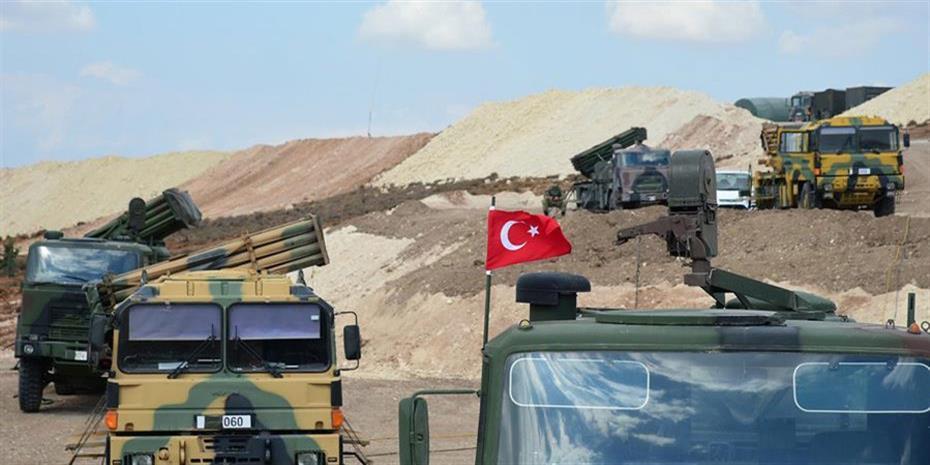 Μπαράζ τουρκικών βομβαρδισμών στη Συρία