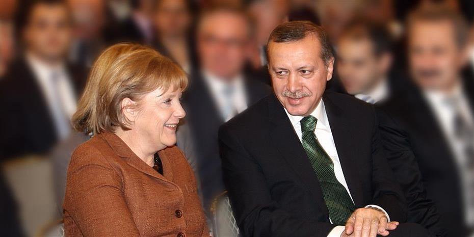 Χωρίς Μέρκελ το επίσημο δείπνο προς τιμήν του Ερντογάν