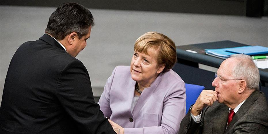 Γκάμπριελ: Ο Σόιμπλε με το Grexit θα τίναζε την Ευρώπη στον αέρα