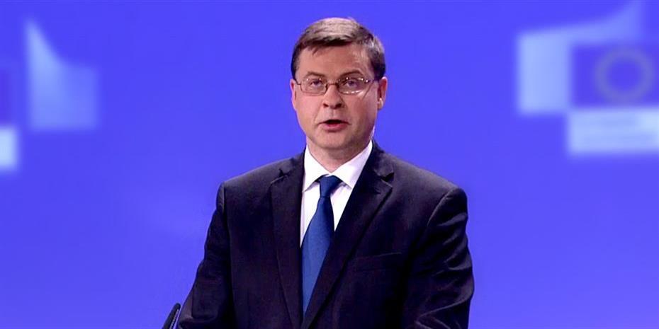Ντομπρόβσκις: Χωρίς μεταρρυθμίσεις δεν παίρνουν επιδοτήσεις οι χώρες