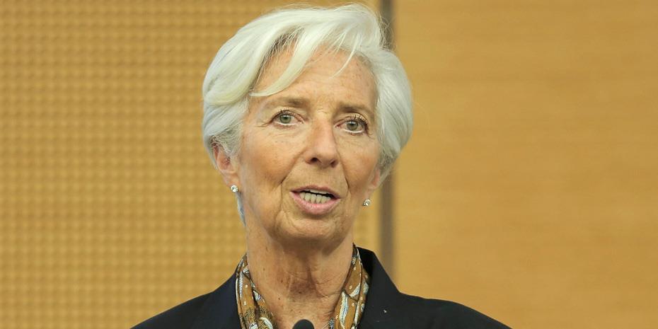 Λαγκάρντ: Οι τράπεζες της ευρωζώνης μπορούν να απορροφήσουν τις απώλειες