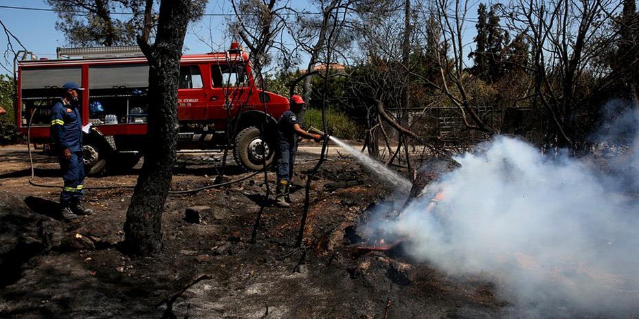 Πυρκαγιές: Δωρεά €1 εκατ. από τον Ομιλο ΤΙΤΑΝ και το Ιδρυμα Π&Α Κανελλοπούλου