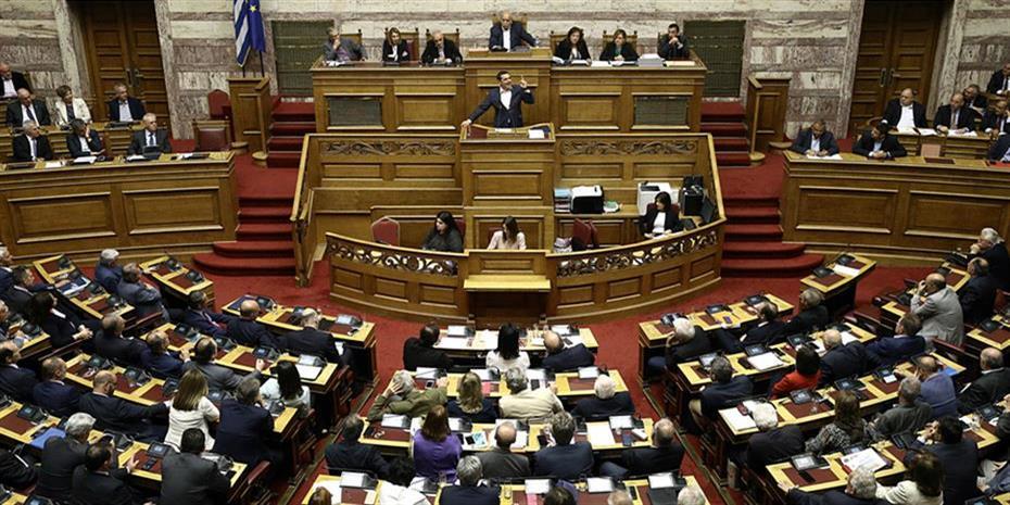Μαραθώνιος συνεδριάσεων στη Βουλή για δεκαπέντε νομοσχέδια