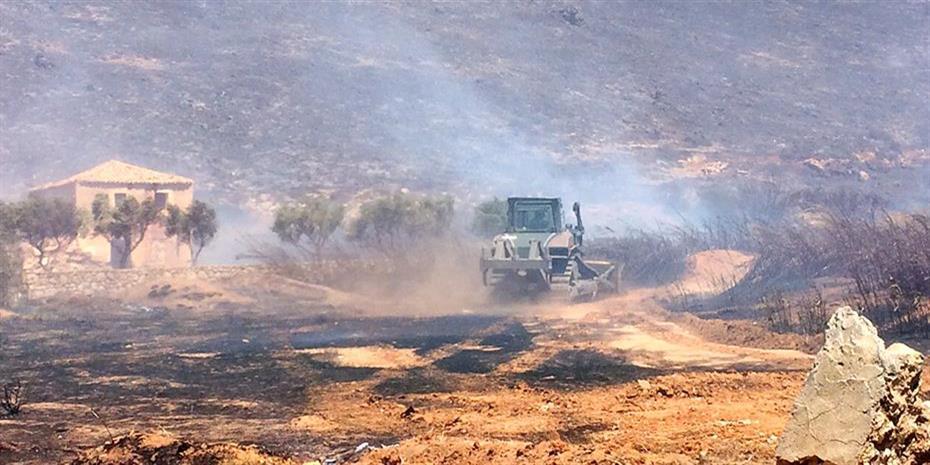 Εκδηλώθηκαν 55 δασικές πυρκαγιές το 24ωρο στην Ελλάδα