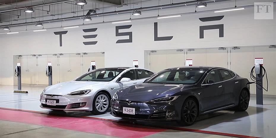Εισαγωγές οχημάτων Model 3 της Tesla από την Κίνα