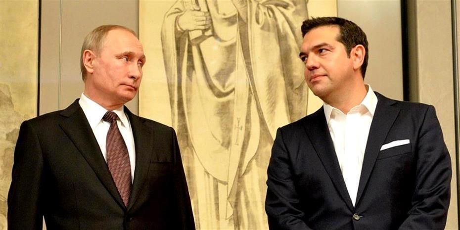 Πούτιν: Παράθυρο για ελληνική συμμετοχή σε ενεργειακά έργα