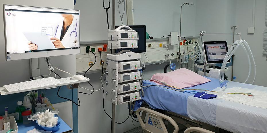Στο 68% ανεβαίνει η πληρότητα των κλινών ΜΕΘ Covid στα νοσοκομεία