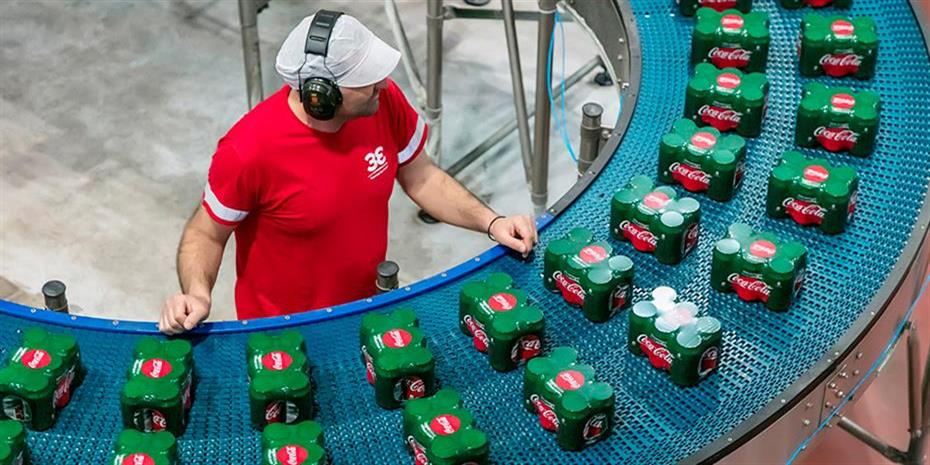 Coca Cola HBC: Αύξηση εσόδων 4,5% το γ' τρίμηνο