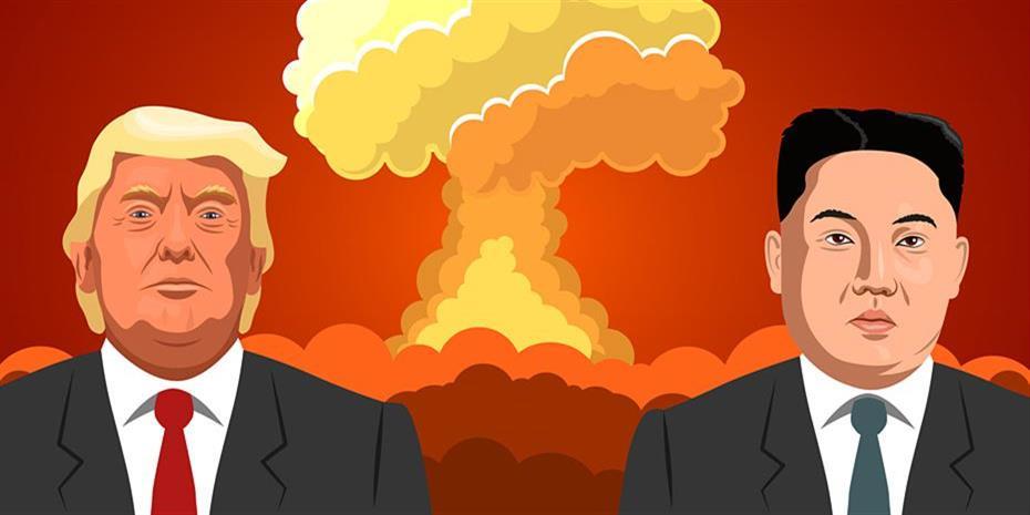 Τραμπ: Ο ανθρωπάκος - πύραυλος Κιμ δεν θα είναι εδώ για πολύ ακόμη!