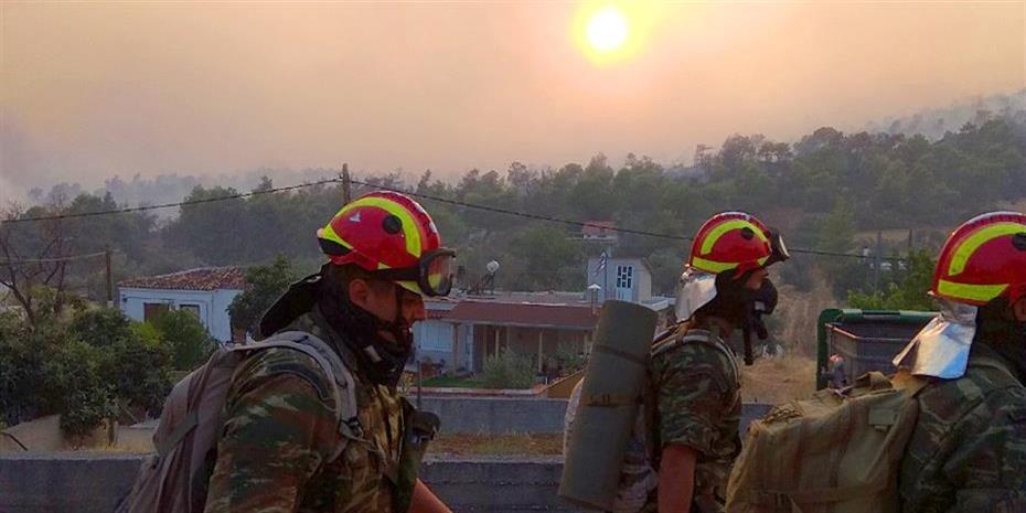 Ξέσπασε πυρκαγιά στην Αταλάντη
