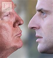 Τραμπ εναντίον Μακρόν στον πόλεμο των ιδεών