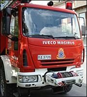 Υπό μερικό έλεγχο η πυρκαγιά στην Αγία Βαρβάρα Αττικής