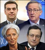 Κομισιόν, ΕΚΤ, ESM συμφωνούν για υβριδική λύση με.. πέντε ρήτρες