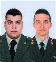 Ελεύθεροι χωρίς περιοριστικούς όρους οι δύο Έλληνες στρατιωτικοί