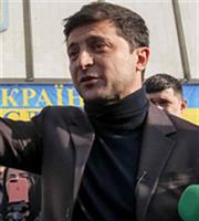 Θρίαμβος του Ζελένσκι στις προεδρικές εκλογές