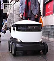 Ρομπότ σε ρόλο… ντελιβερά στους δρόμους του Λονδίνου