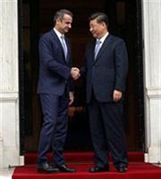 Αναφορά Μητσοτάκη στα Μάρμαρα του Παρθενώνα στο γεύμα με τον Κινέζο πρόεδρο