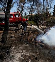 Πυρκαγιές σε Καστοριά και Κοζάνη