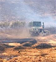 Φωτιά σε χαμηλή βλάστηση στην περιοχή Αιγινήτισσα της Αίγινας