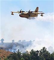 Ξέσπασε πυρκαγιά στην Αίγινα, σε ύφεση αυτή στην Κέα