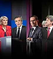 Τέσσερις μνηστήρες για δυο θέσεις στις γαλλικές εκλογές