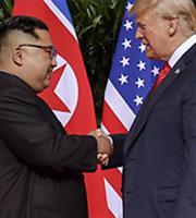 Τραμπ: Παραμένει πυρηνική απειλή η Β. Κορέα