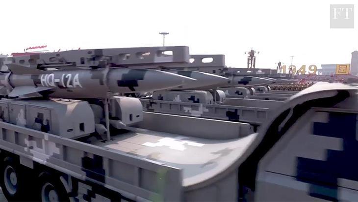Γιατί το Πεκίνο... αποκαλύπτει τα καινούργια του όπλα