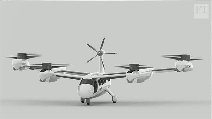To σχέδιο της Uber για τα ιπτάμενα ταξί